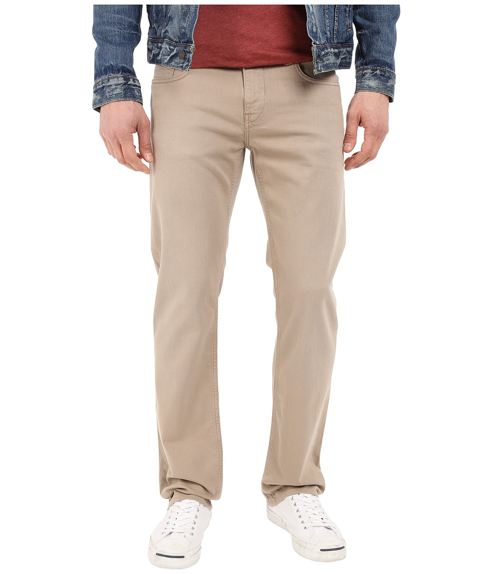 Mavi Jeans Zach Classic Straight Fit in Taupe Comfort (Taupe Comfort) Men