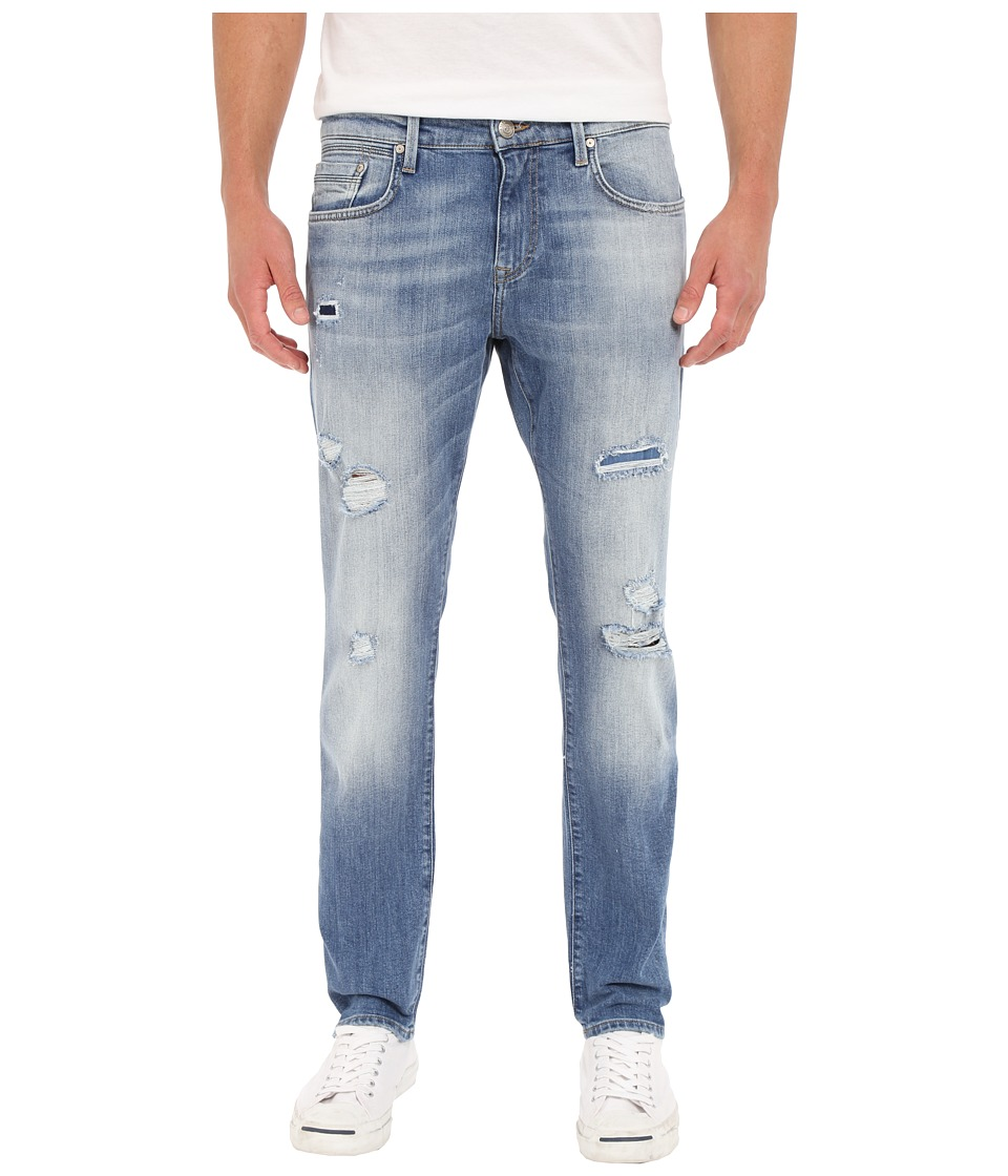 Mavi Jeans - Jake Tapered Fit in Mid Patched Williamsburg (Mid Patched Williamsburg) Men's Jeans