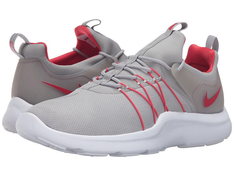 Nike - Darwin (Matte Silver/Action Red/White) Men's Running Shoes