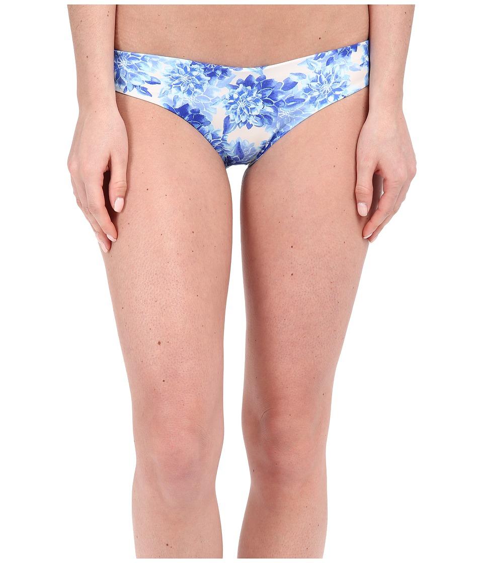 SAHA Levana Basic Bikini Bottom (Light Blue Floral) Women