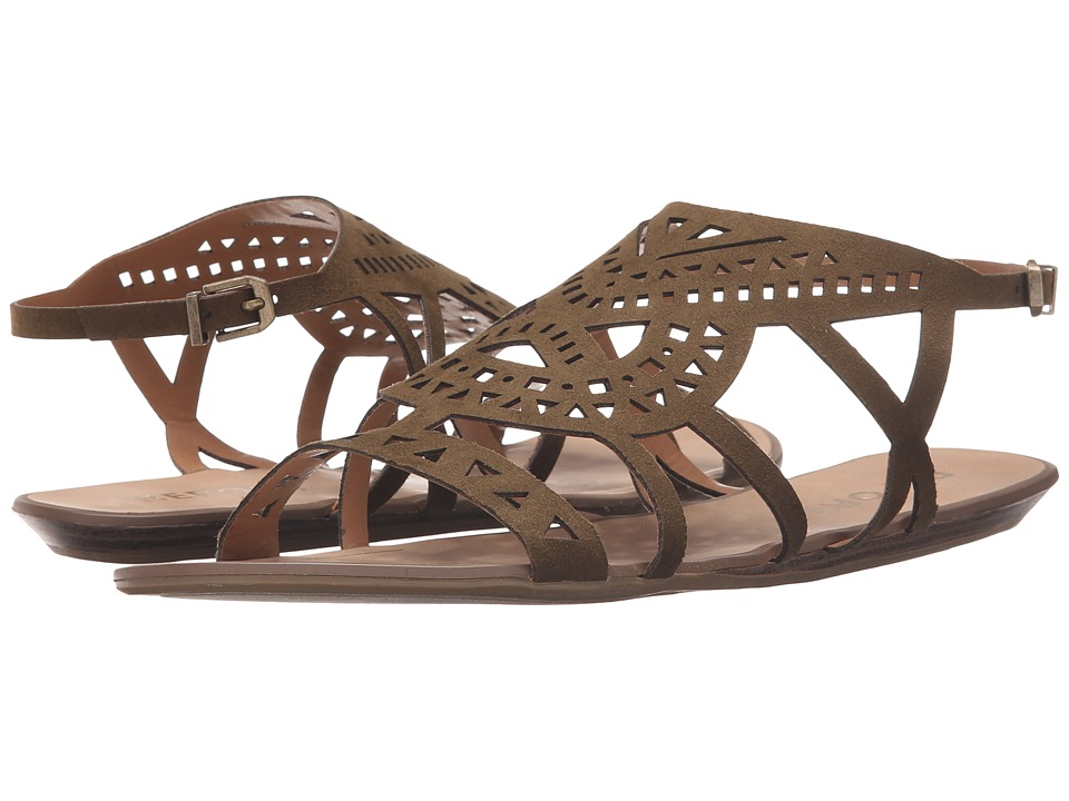 Report - Lidia (Olive) Women's Sandals