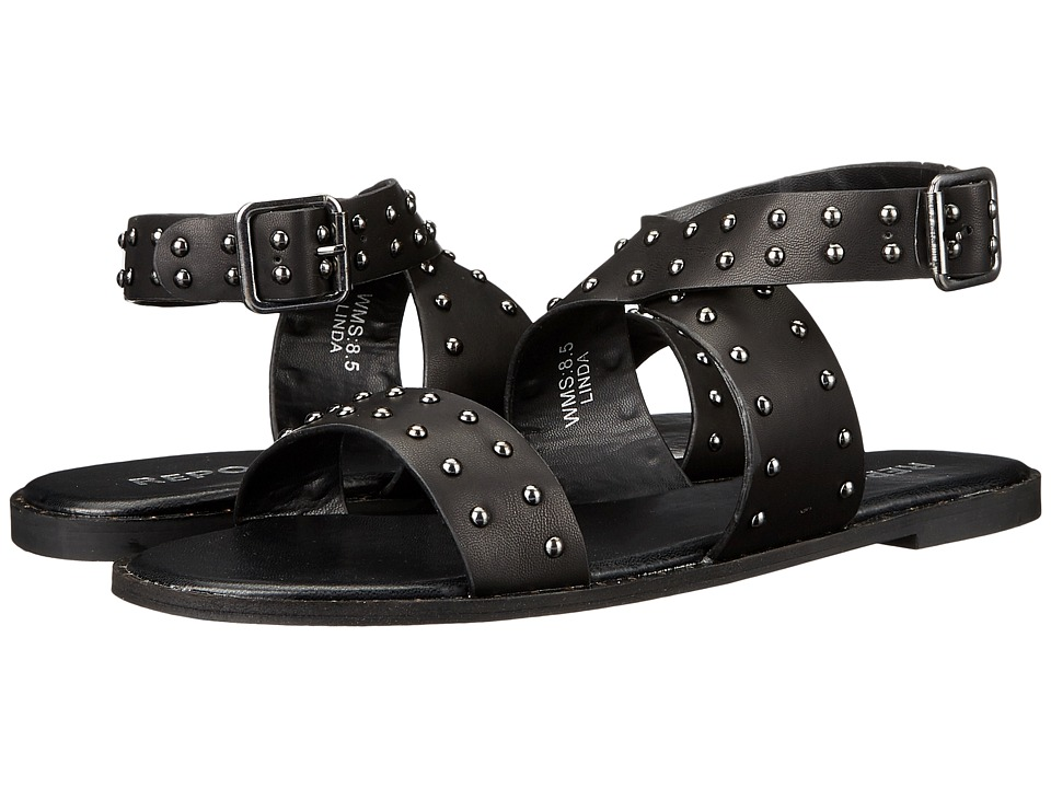 Report - Linda (Black) Women's Sandals
