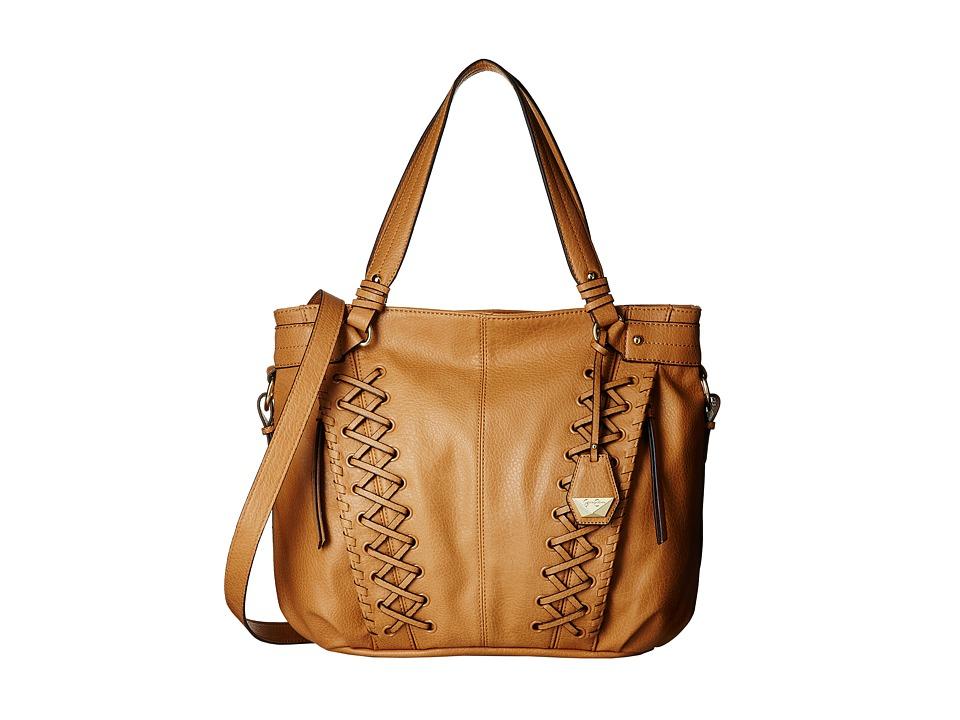 Jessica Simpson - Tyson Tote (Latte) Tote Handbags