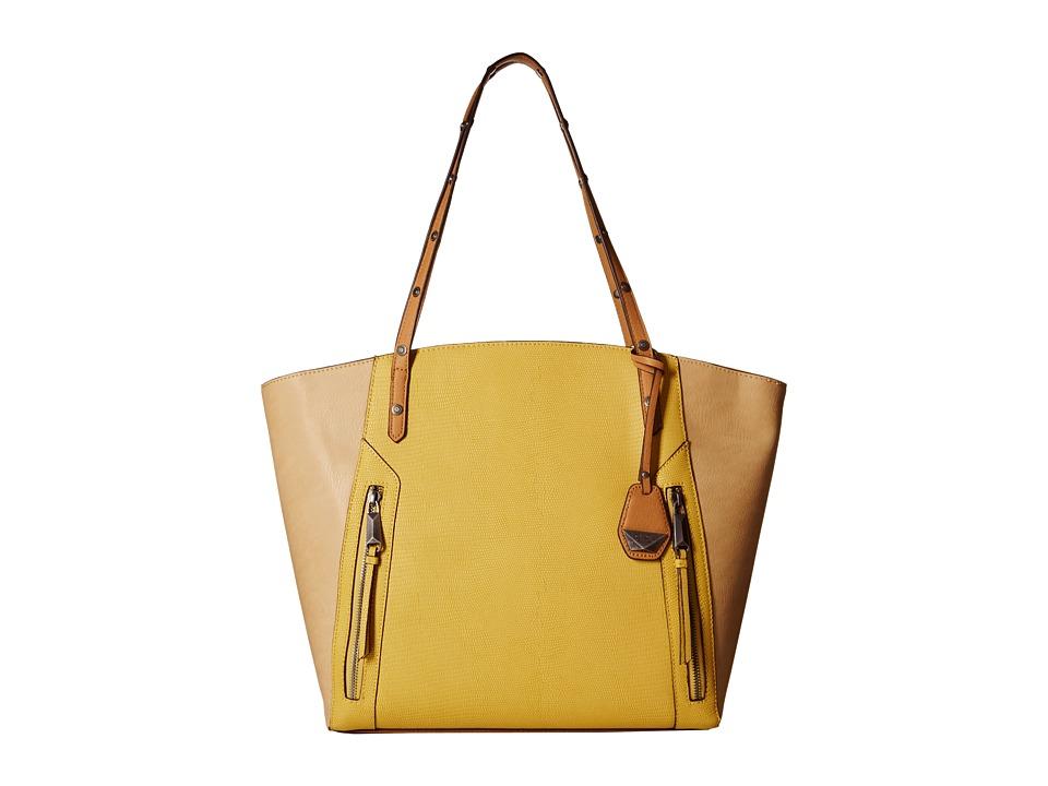 Jessica Simpson - Kyle Tote (Citrine/Beige/Latte) Tote Handbags