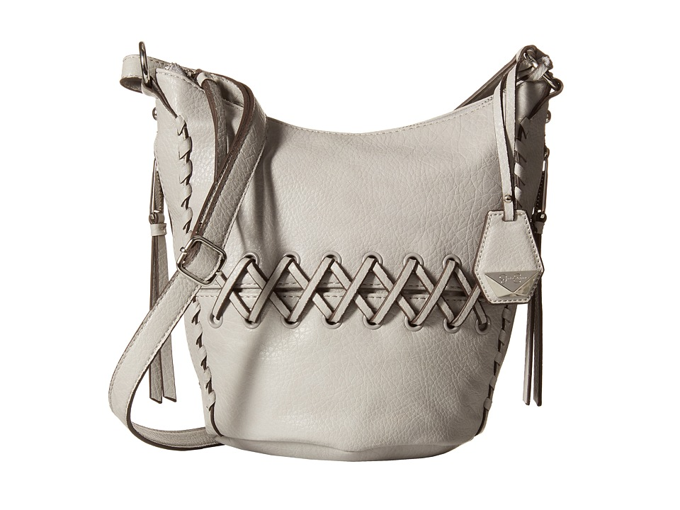 Jessica Simpson - Tyson Crossbody Bucket (Storm Grey) Cross Body Handbags