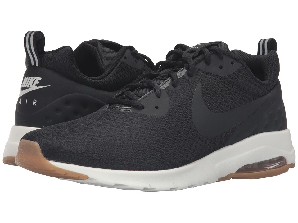 Nike - Air Max Motion LW SE (Black/Black/Sail/Gum Light Brown) Men's Running Shoes