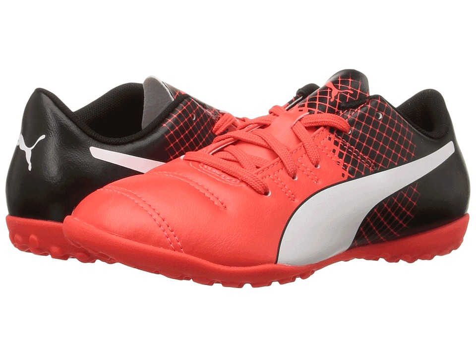 Puma Kids - evoPOWER 4.3 TT Jr (Little Kid/Big Kid) (Red Blast/Puma White/Puma Black) Boys Shoes