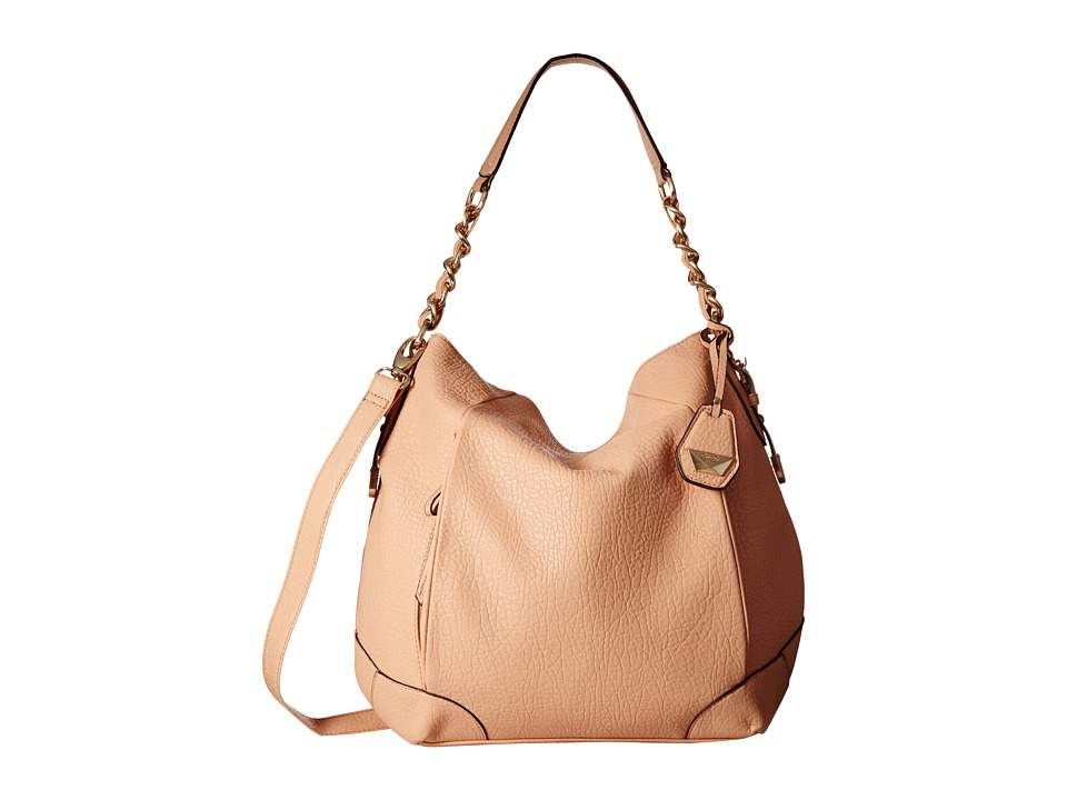 Jessica Simpson - Cindy Crossbody Hobo (Peach) Hobo Handbags