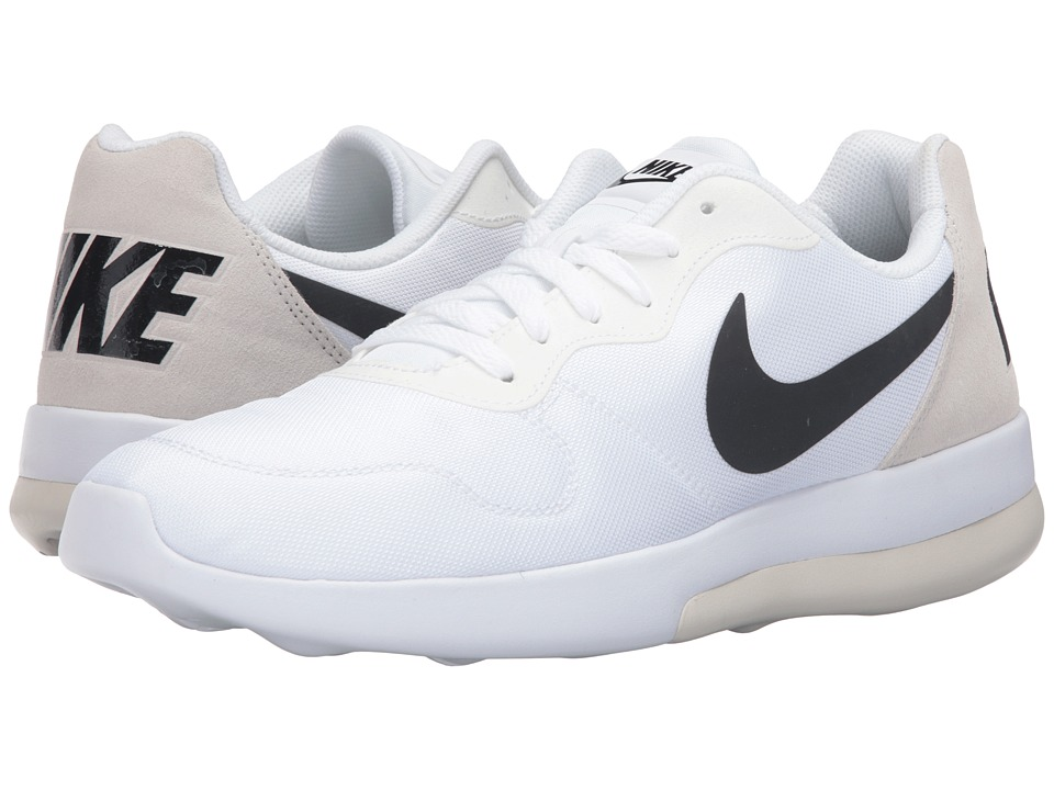 Nike - MD Runner 2 LW (White/Black/Light Bone) Men's Running Shoes