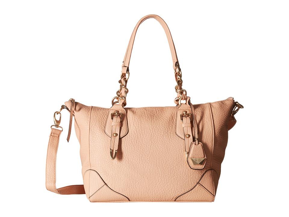 Jessica Simpson - Cindy Crossbody Satchel (Peach) Satchel Handbags
