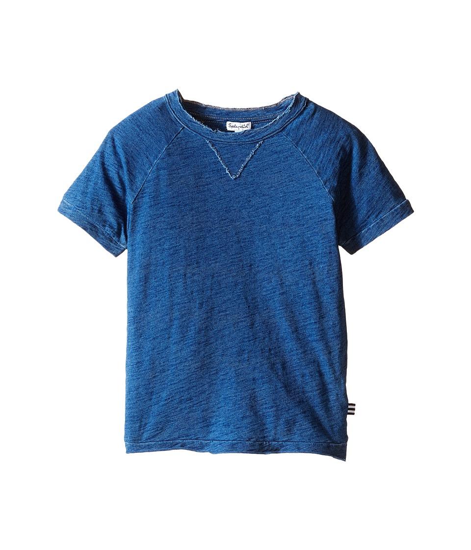 Splendid Littles - Short Sleeve Indigo Tee (Little Kids/Big Kids) (Medium Stone) Boy's T Shirt