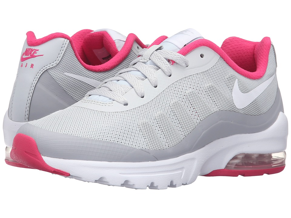 Nike - Air Max Invigor (Pure Platinum/White/Wolf Grey/Vivid Pink) Women's Classic Shoes