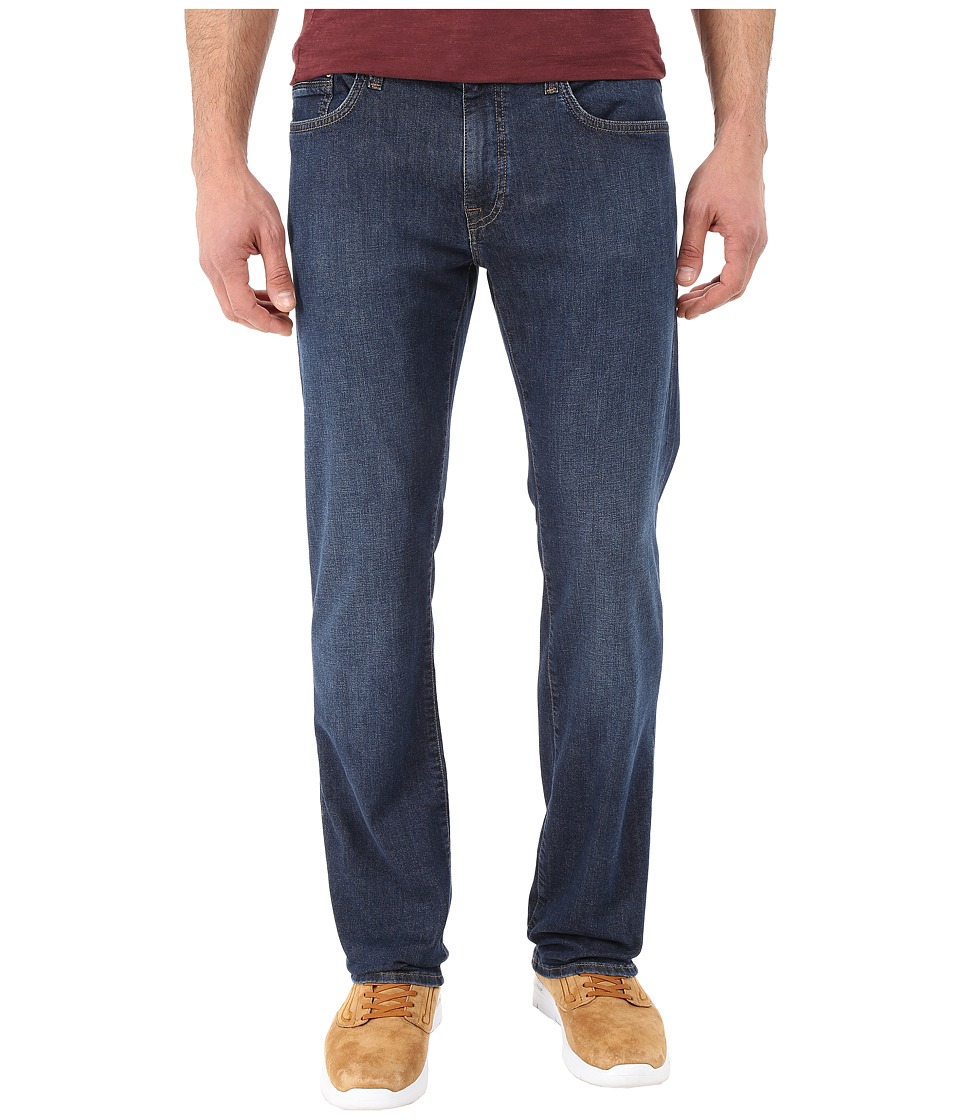 Mavi Jeans Zach Classic Straight Leg in Dark Comfort (Dark Comfort) Men