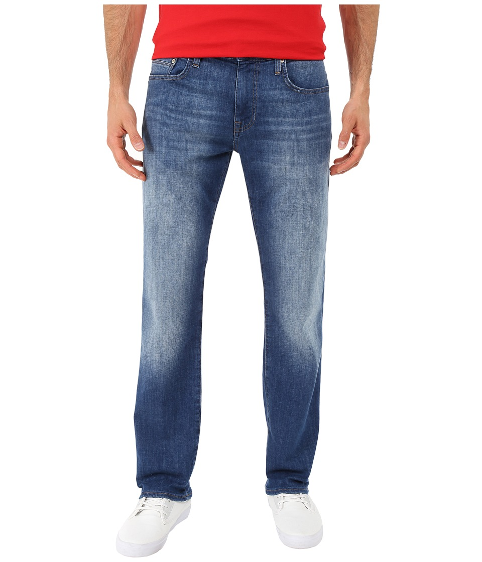 Mavi Jeans Zach Classic Straight Leg in Dark Aqua (Dark Aqua) Men