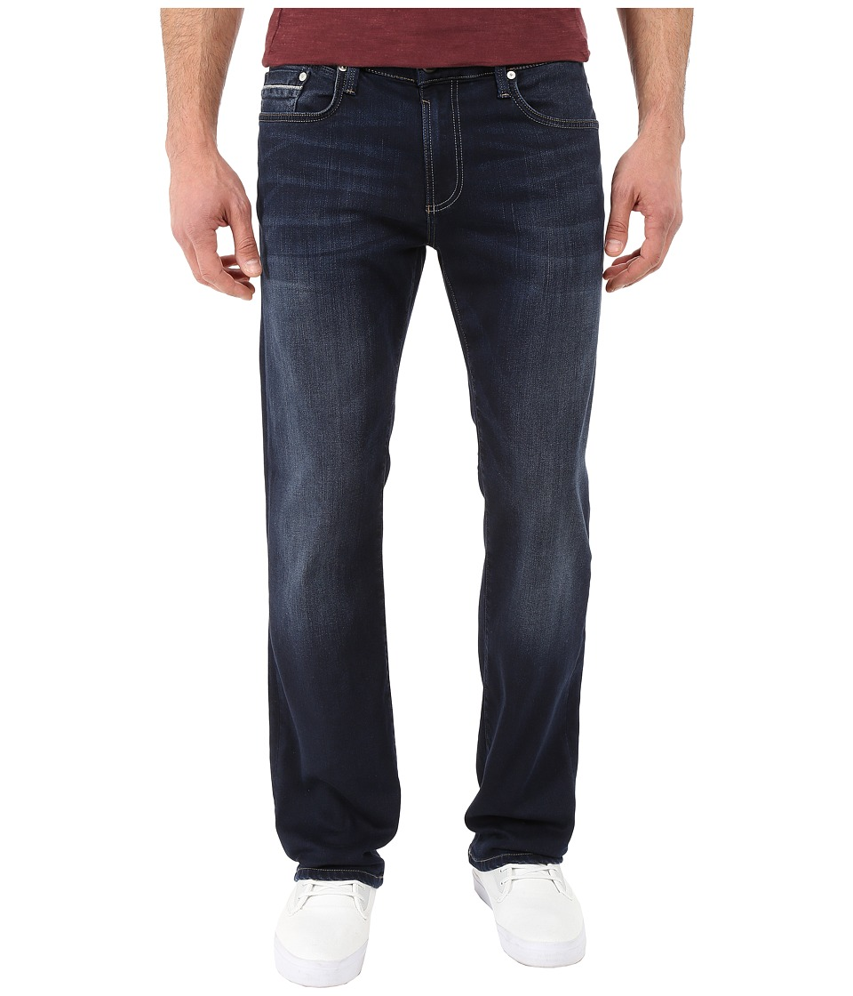 Mavi Jeans Zach Classic Straight Leg in Ultra Move White Edge (Ultra Move White Edge) Men