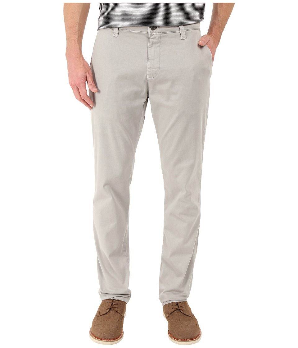 Mavi Jeans - Edward Straight Fit Trousers in Grey Twill (Grey Twill) Men's Casual Pants