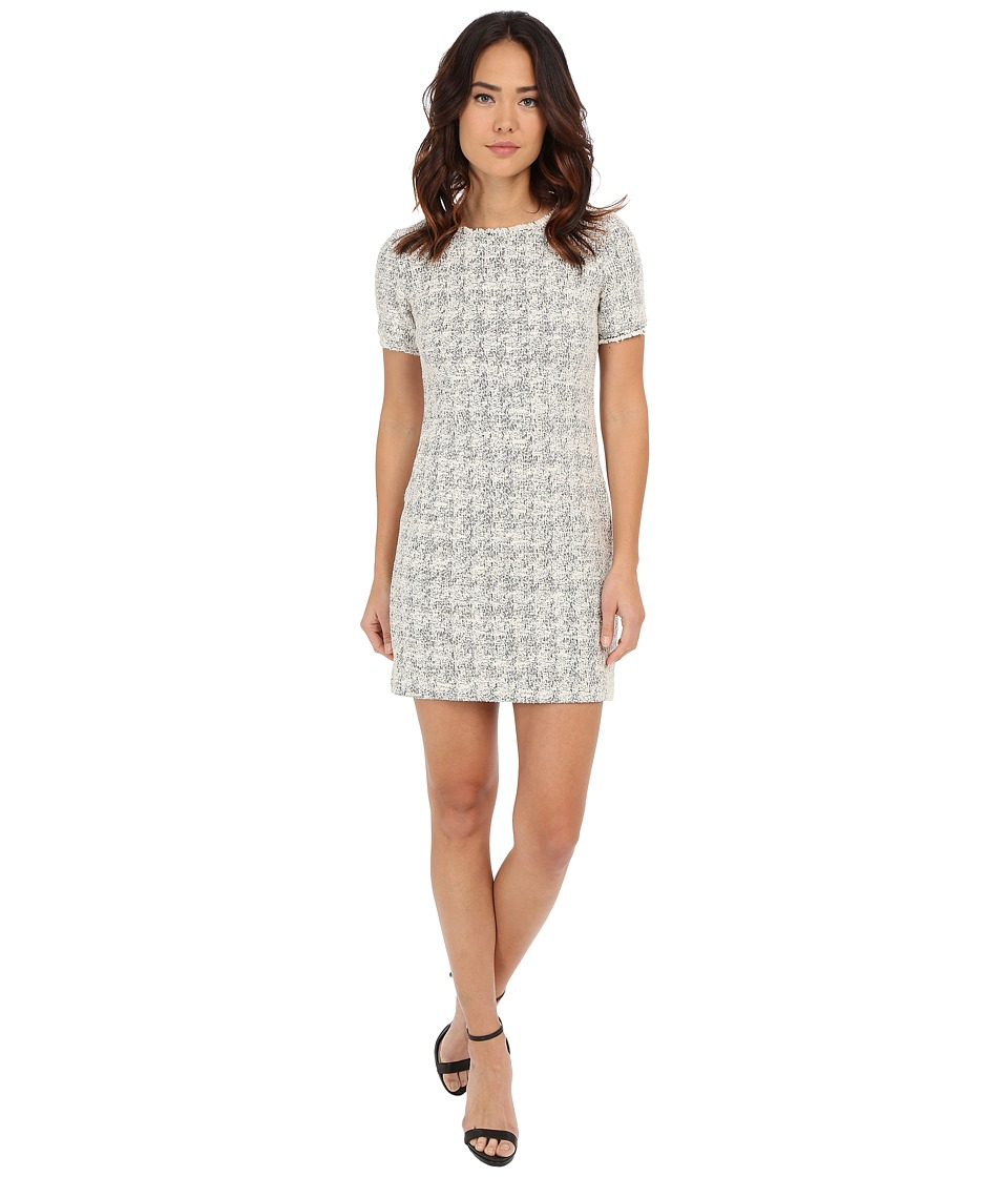 Nicole Miller - Summer Tweed Tee Dress (White Multi) Women's Dress
