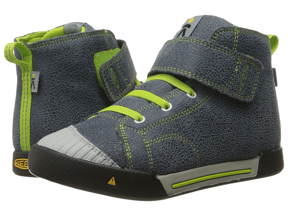Keen Kids - Encanto Scout High Top (Toddler/Little Kid) (Black/Macaw) Boys Shoes