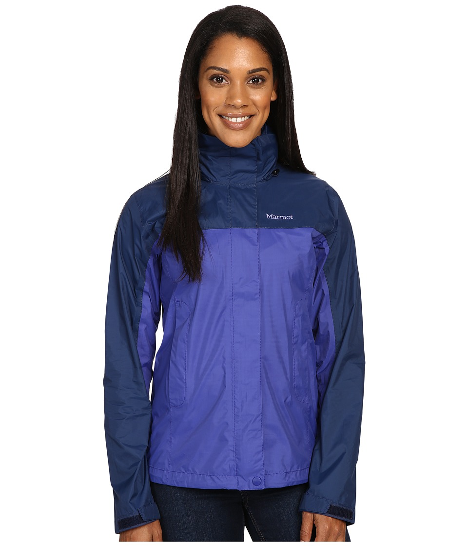 Marmot - PreCip Jacket (Royal Night/Arctic Navy) Women's Jacket