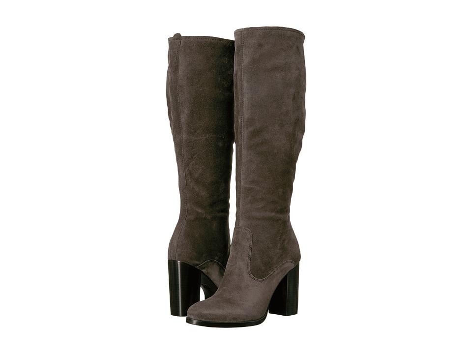 Frye - Claude Tall (Smoke Oiled Suede) Women's Boots