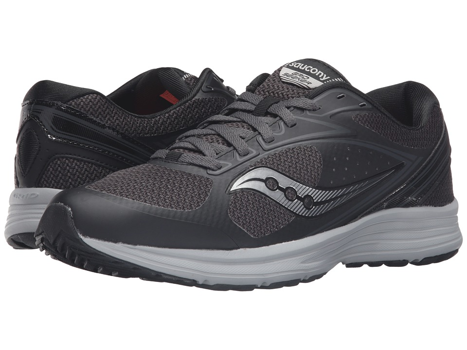 Saucony - Seeker (Black/Grey) Men's Running Shoes
