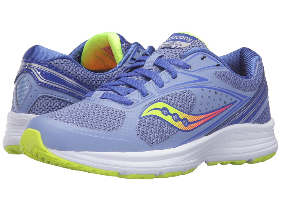 Saucony - Seeker (Blue/Coral/Citron) Women's Running Shoes