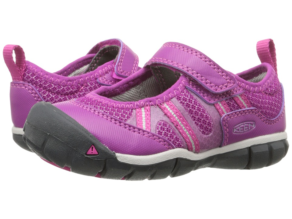 Keen Kids - Monica MJ CNX (Toddler/Little Kid) (Purple Wine/Very Berry) Girls Shoes