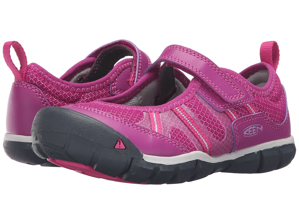 Keen Kids Monica MJ CNX (Little Kid/Big Kid) (Purple Wine/Very Berry) Girls Shoes