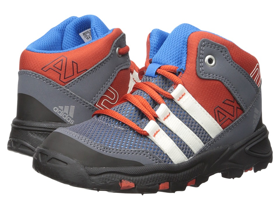 adidas Outdoor Kids - AX 2 Mid (Toddler) (Shock Blue/Chalk White/Onix) Boys Shoes