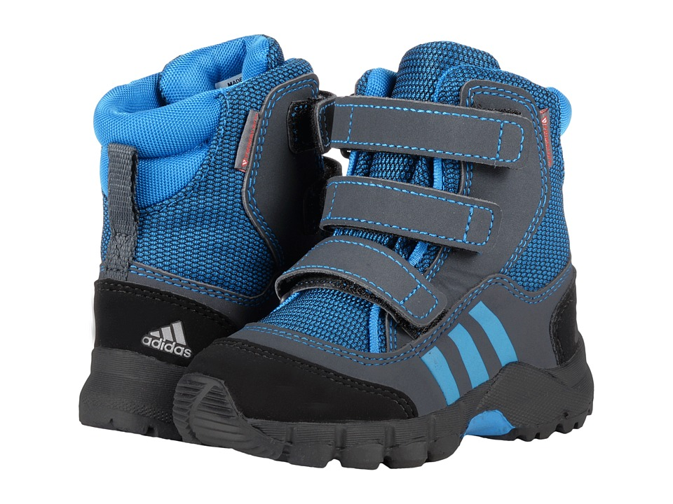 adidas Outdoor Kids - CW Holtanna Snow CF (Toddler) (Shock Blue/Shock Blue/Dark Grey) Boys Shoes
