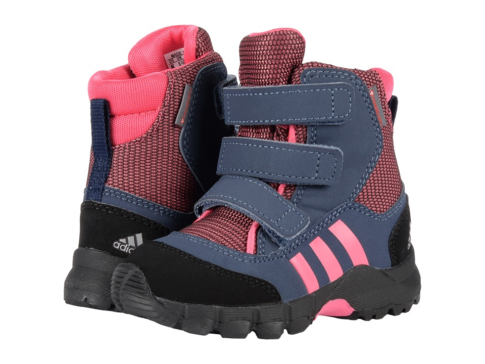 adidas Outdoor Kids - CW Holtanna Snow CF (Toddler) (Bahia Pink/Bahia Pink/Collegiate Navy) Girls Shoes
