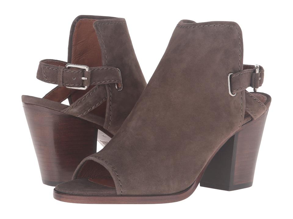 Frye - Dani Shield Sling (Dark Taupe Suede) Women's Boots