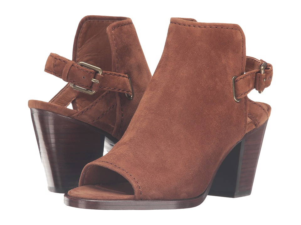 Frye Dani Shield Sling (Wood Suede) Women