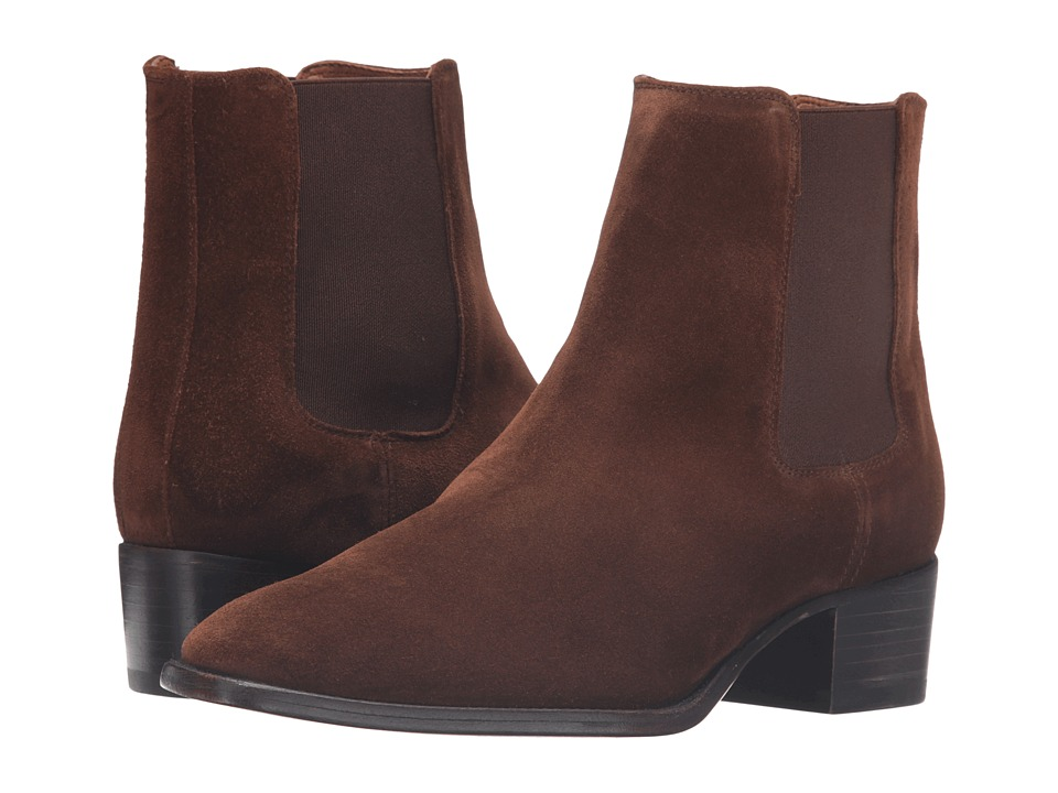 Frye - Dara Chelsea (Brown Oiled Suede) Women's Boots