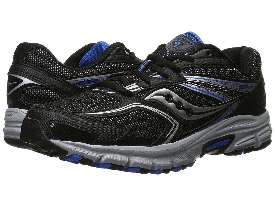 Saucony - Cohesion TR9 (Black/Royal) Men's Running Shoes