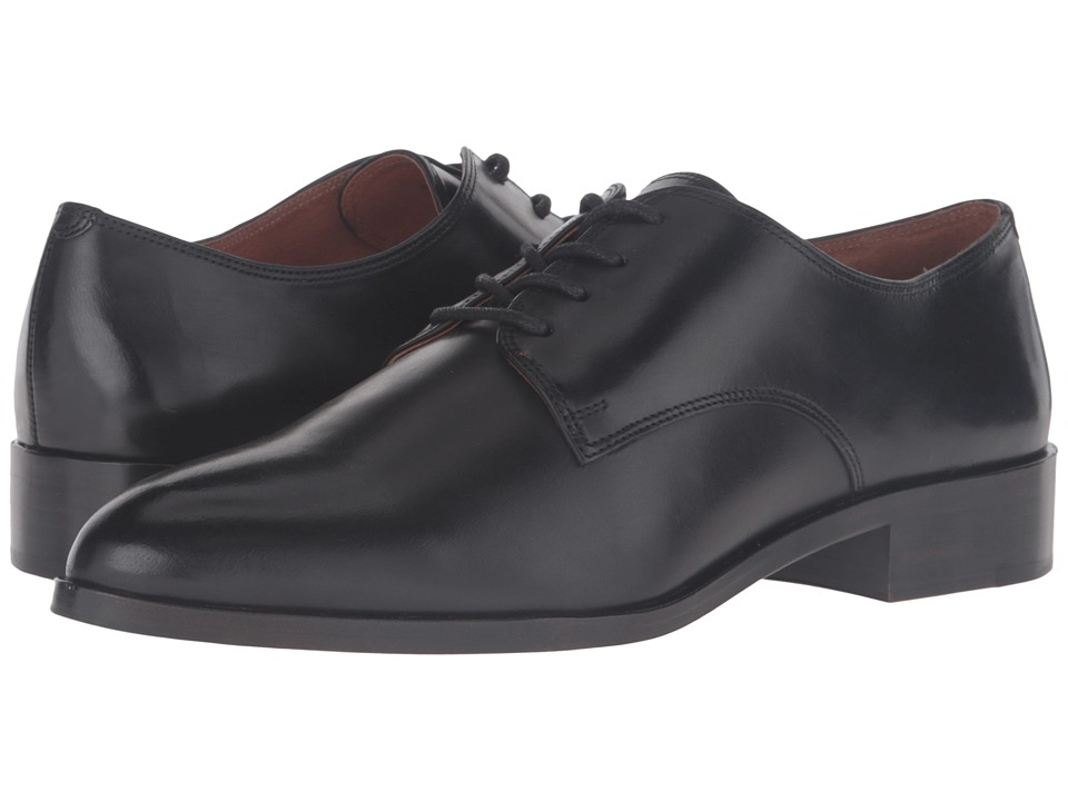 Frye Erica Oxford (Black Smooth Veg Calf) Women