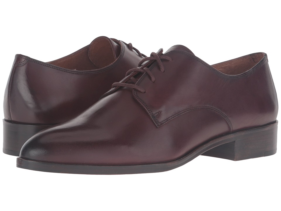 Frye Erica Oxford (Bordeaux Smooth Veg Calf) Women