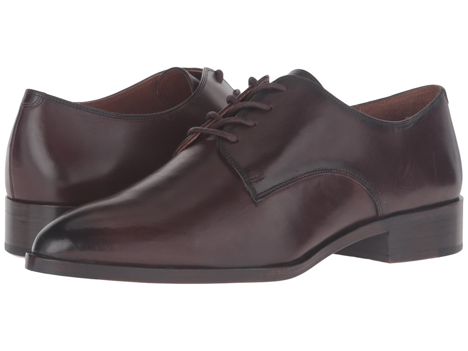 Frye Erica Oxford (Dark Brown Smooth Veg Calf) Women