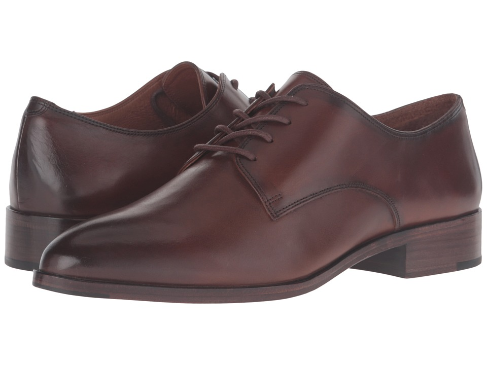 Frye Erica Oxford (Whiskey Smooth Veg Calf) Women