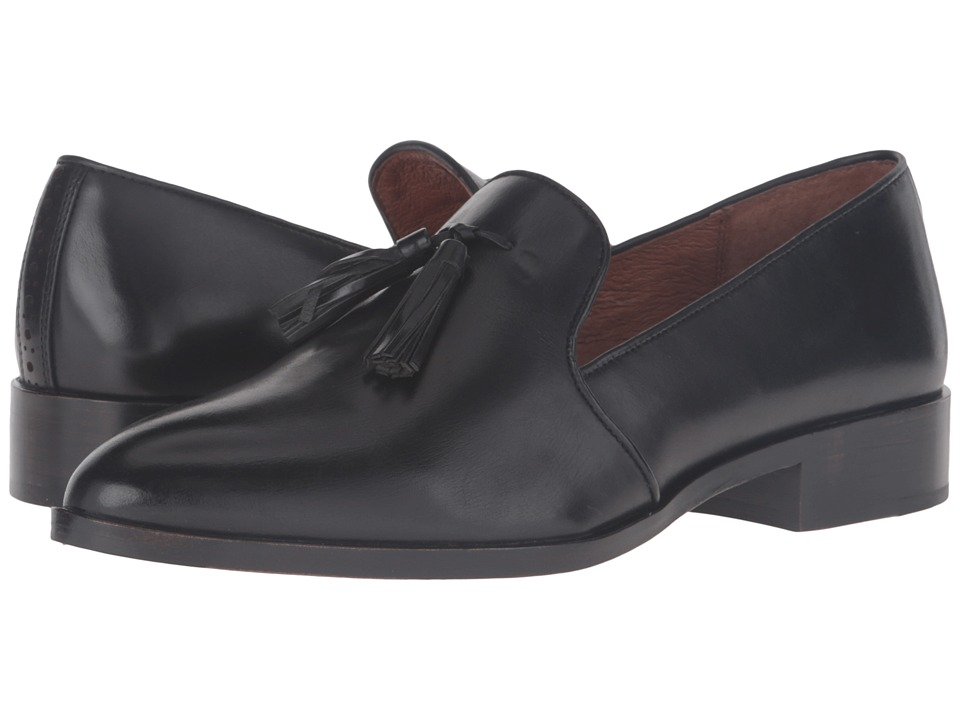 Frye Erica Venetian (Black Smooth Veg Calf) Women