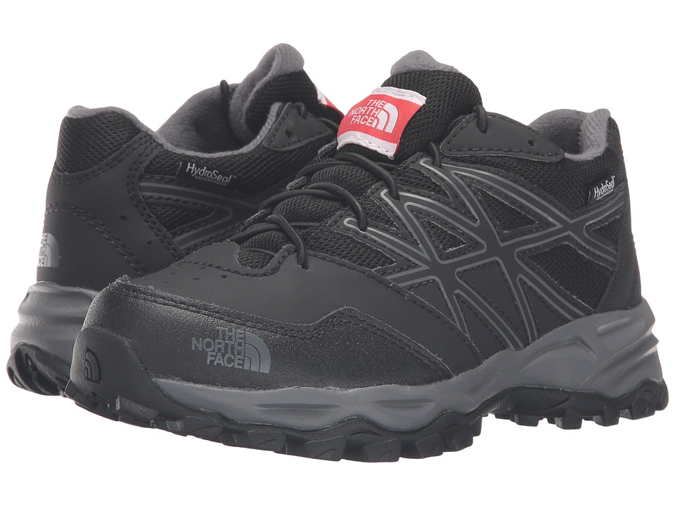 The North Face Kids - Jr Hedgehog Hiker WP(Little Kid/Big Kid) (TNF Black/Zinc Grey) Boys Shoes