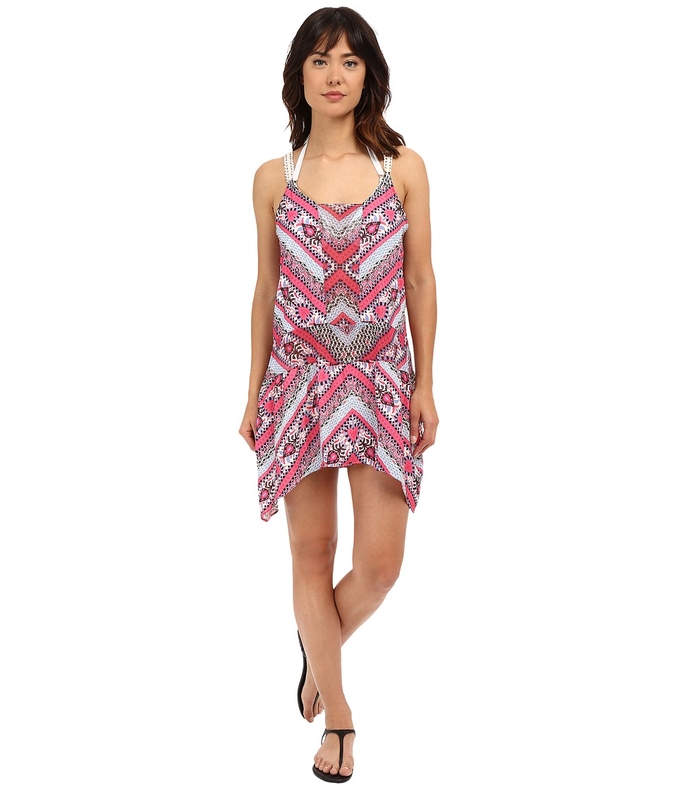 BECCA by Rebecca Virtue - Secret Garden Dress Cover-Up (Multi) Women's Swimwear