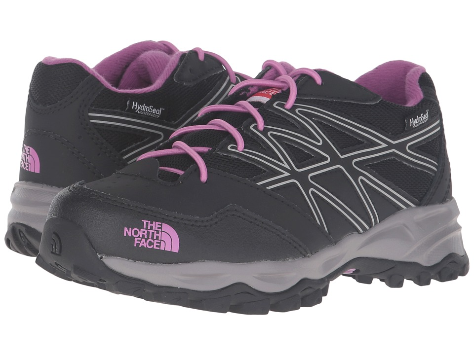 The North Face Kids - Jr Hedgehog Hiker WP (Little Kid/Big Kid) (TNF Black/Lupine) Girls Shoes