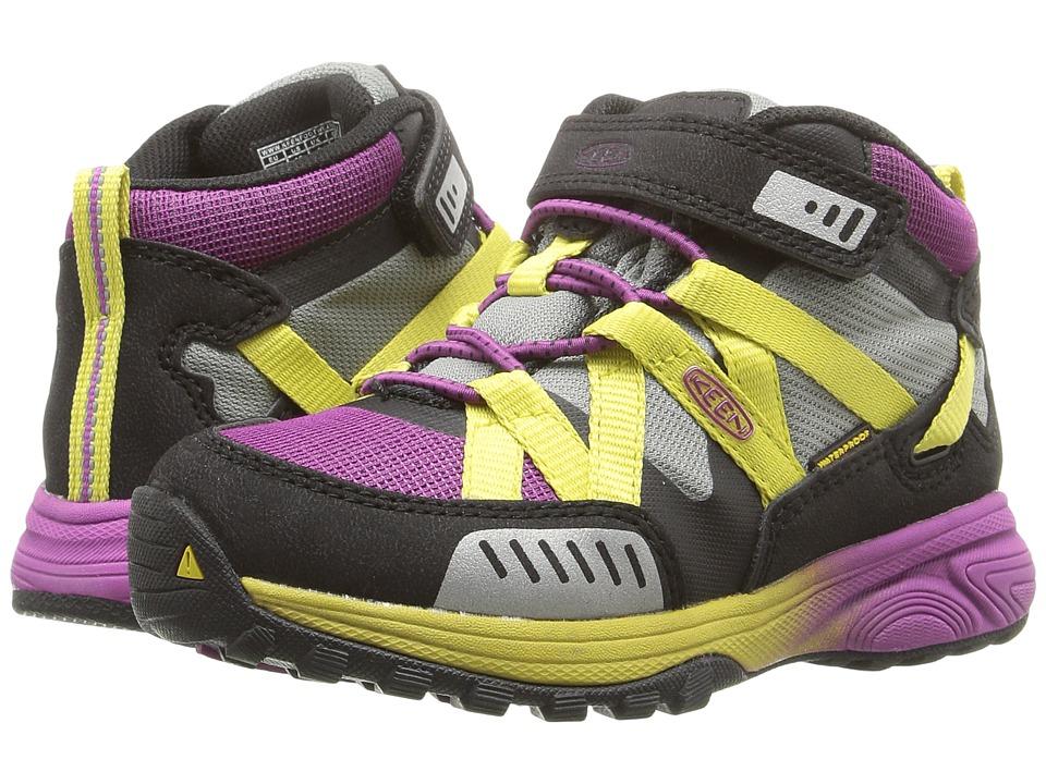 Keen Kids - Versatrail Mid WP (Toddler/Little Kid) (Purple Wine/Warm Olive) Girls Shoes