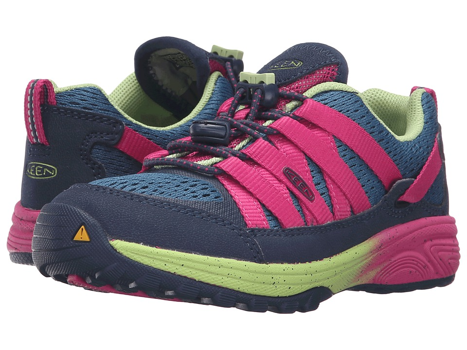 Keen Kids - Versatrail (Little Kid/Big Kid) (Ink Blue/Very Berry) Girl's Shoes