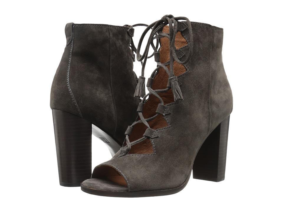 Frye - Gabby Ghillie (Smoke Suede) Women's Shoes