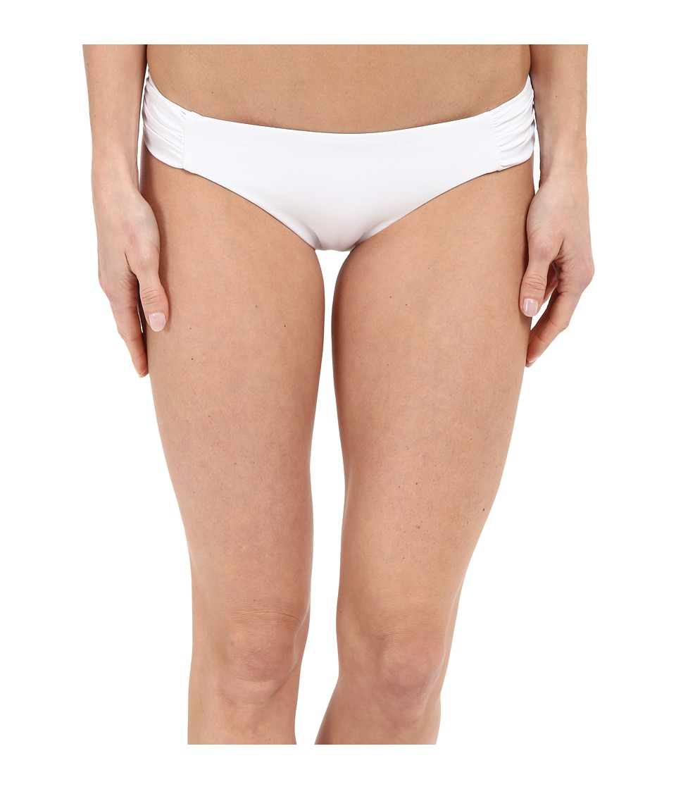 BECCA by Rebecca Virtue - Color Code American Side Tab Bottom (White) Women's Swimwear