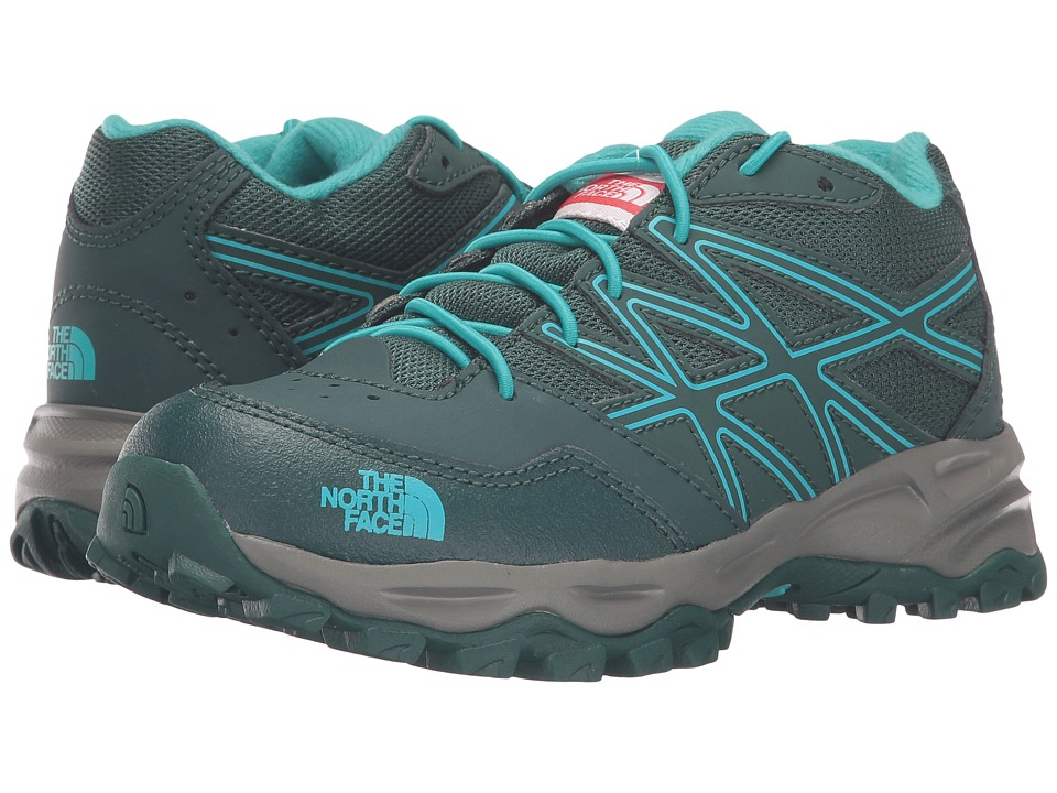 The North Face Kids - Jr Hedgehog Hiker(Little Kid/Big Kid) (Botanical Garden Green/Ion Blue) Girls Shoes