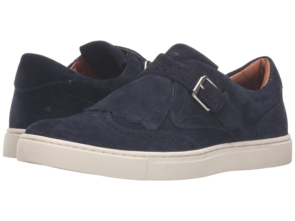 Frye - Gemma Kiltie (Navy Oiled Suede) Women's Shoes