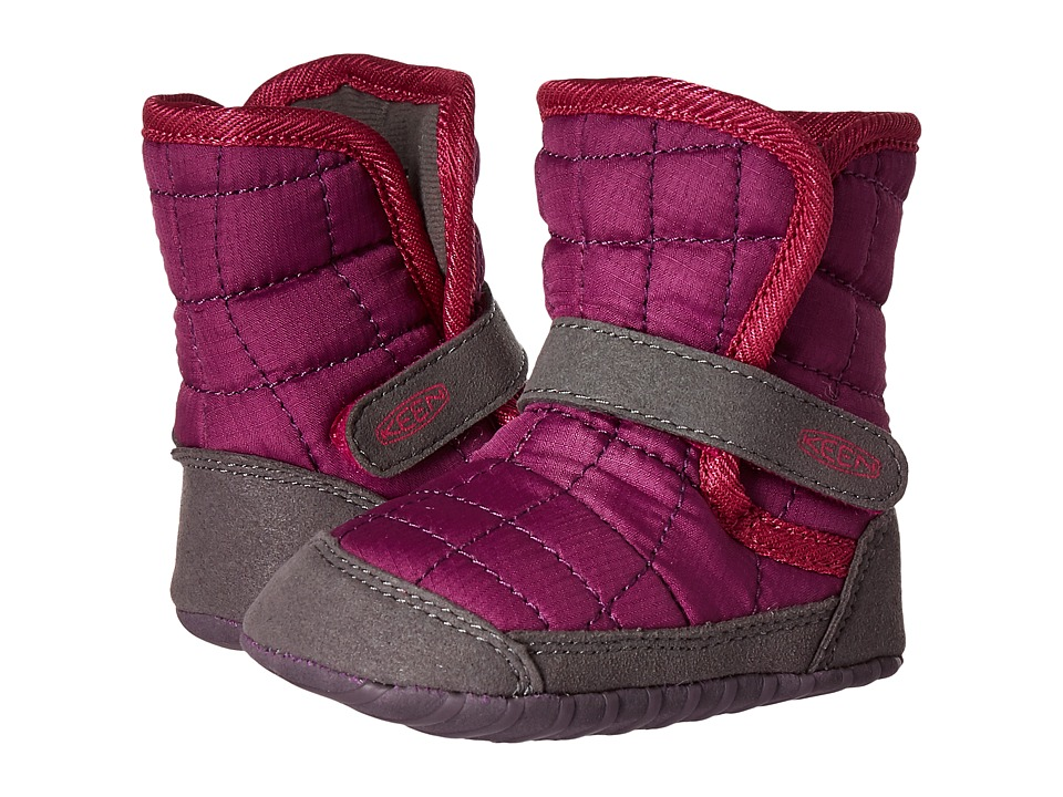 Keen Kids - Rover Crib (Infant) (Purple Wine/Very Berry) Girls Shoes